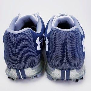 Under Armour Shoes - Under Armour Men's Spieth 2 Golf Shoes Blue White